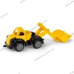 Машина с ковшом черно-желтая Viking Toys 25 см (31212)