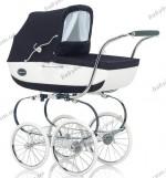 Детская коляска-люлька с сумкой Inglesina Classica Ballant Nappa 2013 (синий с белым)