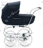 Детская коляска-люлька с сумкой Inglesina Classica Marina 2011 (синий)
