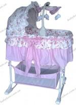Детская колыбель Baby Circus Precious 4в1 (PFC)