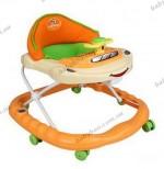 Детские ходунки Pilsan Машинка (07-503) оранжевые