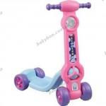 Детский четырехколесный самокат Pilsan Mini Scooter (розовый)