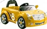 Детский электромобиль Geoby LW846Q (Кадилак  желтый)