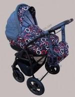 Детская универсальная коляска 3 в 1 TUTIS Willi Way (цвет 21)