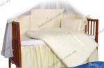Комплект постельного белья Tuttolina (7 элементов) Sweet Cream