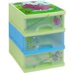 Сундук для игрушек с ящичками Prima-baby Hippo 2210.98(WW)