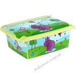 Ящик для игрушек Prima Baby Hippo 10 литров 271378E