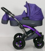 Детская универсальная коляска 2 в 1 Tako Laret Gray (цвет 08)