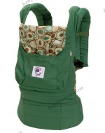 Рюкзак-переноска ErgoBaby Carrier Organic (Green with River Rock Print Lining)