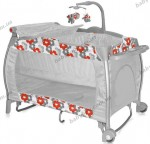 Манеж-кровать Bertoni I Lounge (Orange flowers)