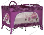 Манеж-кровать Bertoni Travel Kid Rocker (Pink movie star)