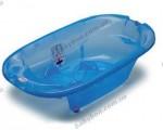 Детская анатомическая ванночка OK Baby Onda (синий прозрачный)