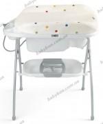Пеленатор c ванночкой Riccone NeoNato (С-154) Белый в горошки