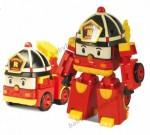 Пожарная машинка-трансформер Рой Silverlit Robocar Poli, 10 см (83170)