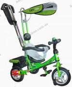 Детский трехколесный велосипед Lexus Trike Lex-007-903А на надувных колесах (салатовый)