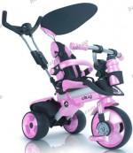 Детский трехколесный велосипед Injusa City Trike 3262-003 (розовый)