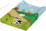 Пеленальный матрасик Prima-Baby Funny Farm 8726.274 (зеленый)