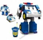 Робот-трансформер Робокар Поли Silverlit Robocar Poli на р/у, 31 см (83185)