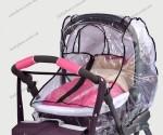 Универсальный дождевик с молнией для колясок Baby Breeze 0310