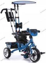 Детский трехколесный велосипед Profi Trike M 5360-1 (голубой)