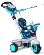 Детский трехколесный велосипед Smart Trike Dream 4 в 1 голубой (8000900)