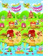 Игровой коврик Babypol Маленькая страна (180х200 см)