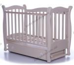 Детская кроватка ВЕРЕС Соня ЛД15 с маятниковым механизмом (слоновая кость)