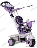 Детский трехколесный велосипед Smart Trike Dream 4 в 1 сиреневый (8000700)