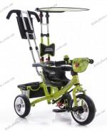 Детский трехколесный велосипед Profi Trike M 5360-3 (зеленый Божья коровка)