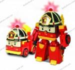 Трансформер Рой с подсветкой и аксессуарами Silverlit Робокар Поли (83093)