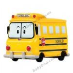 Металлическая машинка автобус Скулби Silverlit Робокар Поли, 6 см (83164)