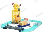 Игровой набор Грузовой порт с разводным мостом Silverlit, 55 см (83083)