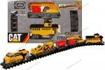 Игровой набор CAT Железная дорога Строительный экспресс (55651)