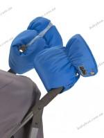 Двойная универсальная муфта для коляски ДоРечi (голубая)