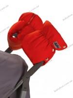 Двойная универсальная муфта для коляски ДоРечi (красная)