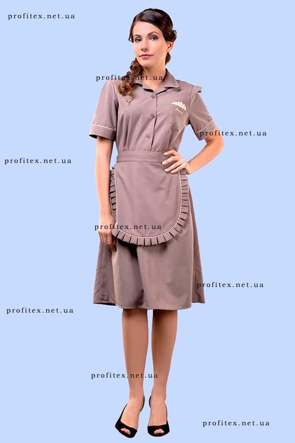 Платье с передником 3306