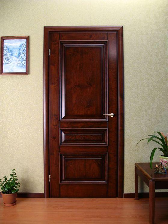 железные двери с отделкой деревом