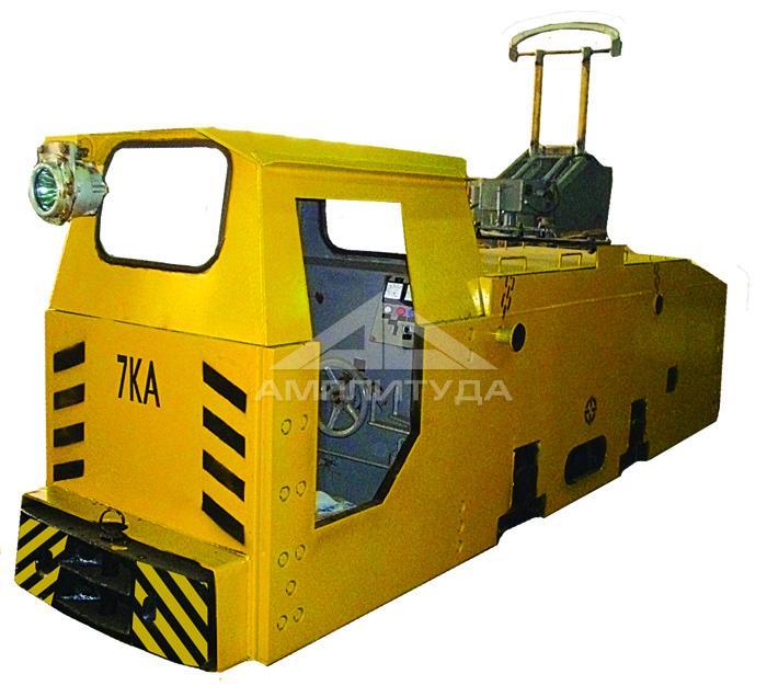 Trolley locomotive 7КА