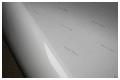Пленка самоклеящаяся Everflex® 120mic, БЕЛАЯ, ГЛЯНЦЕВАЯ, шириной 1,27м