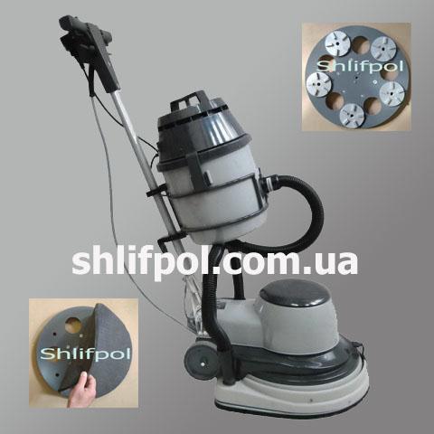 Плоскошлифовальная машина ВИРБЕЛ с пылесосом (Италия)