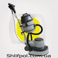 Плоскошлифовальная машина для паркета WIRBEL (Италия) с пылесосом