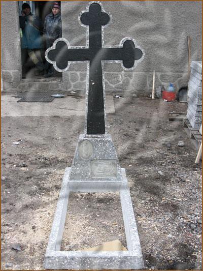 Крест шлифованный - 1,7м