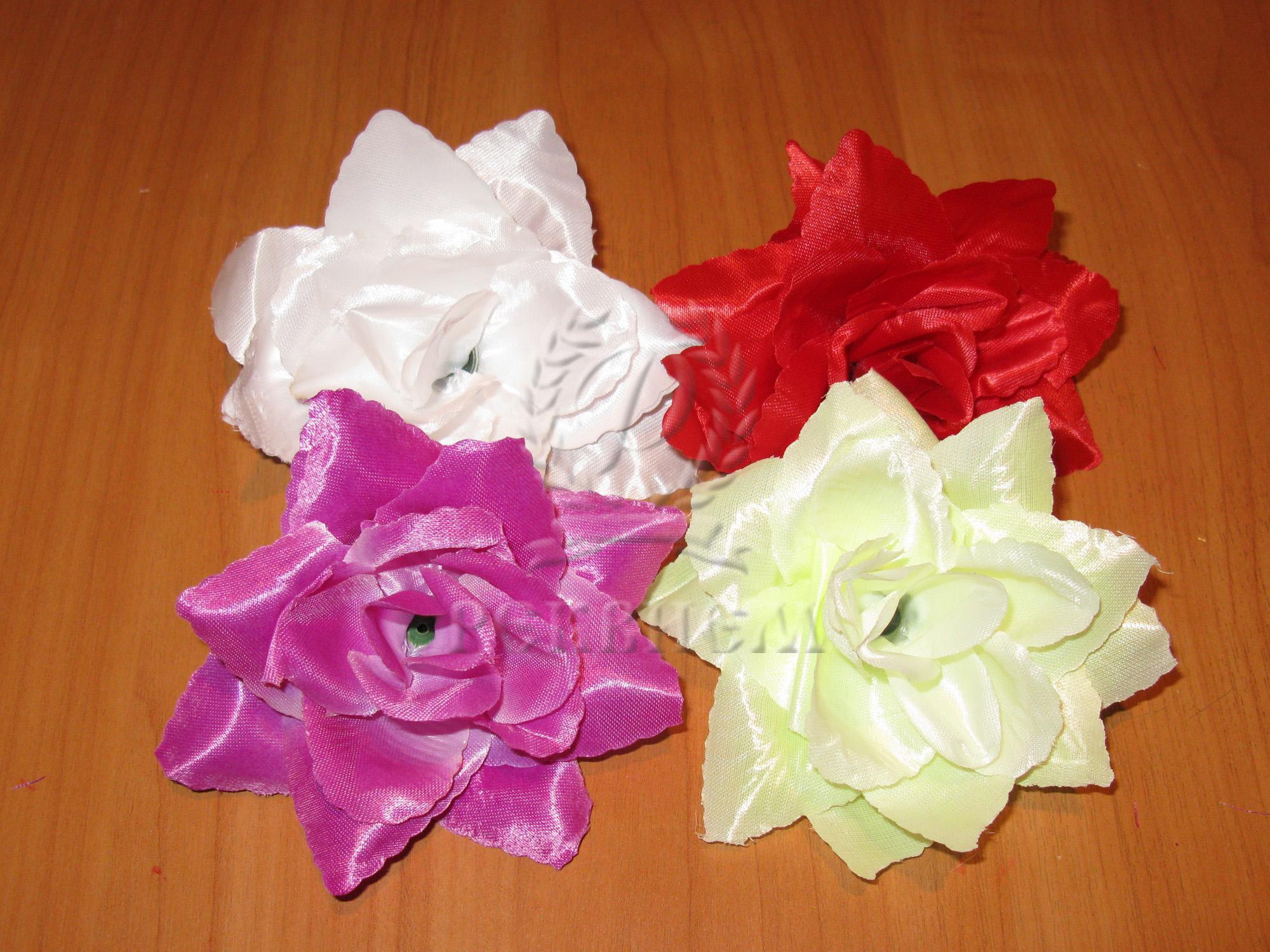 Роза 5-л острая атласная