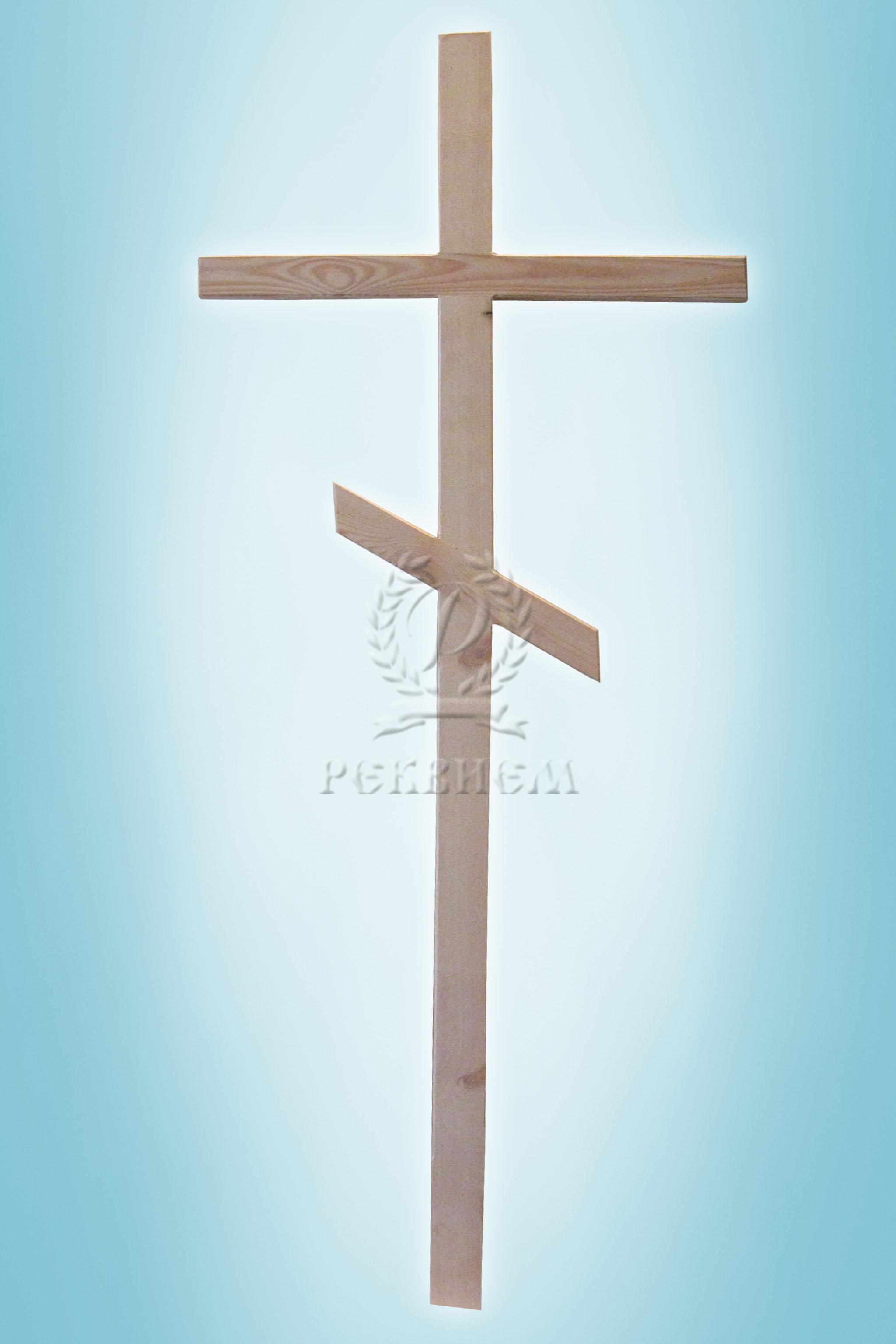 Крест №15 Белый
