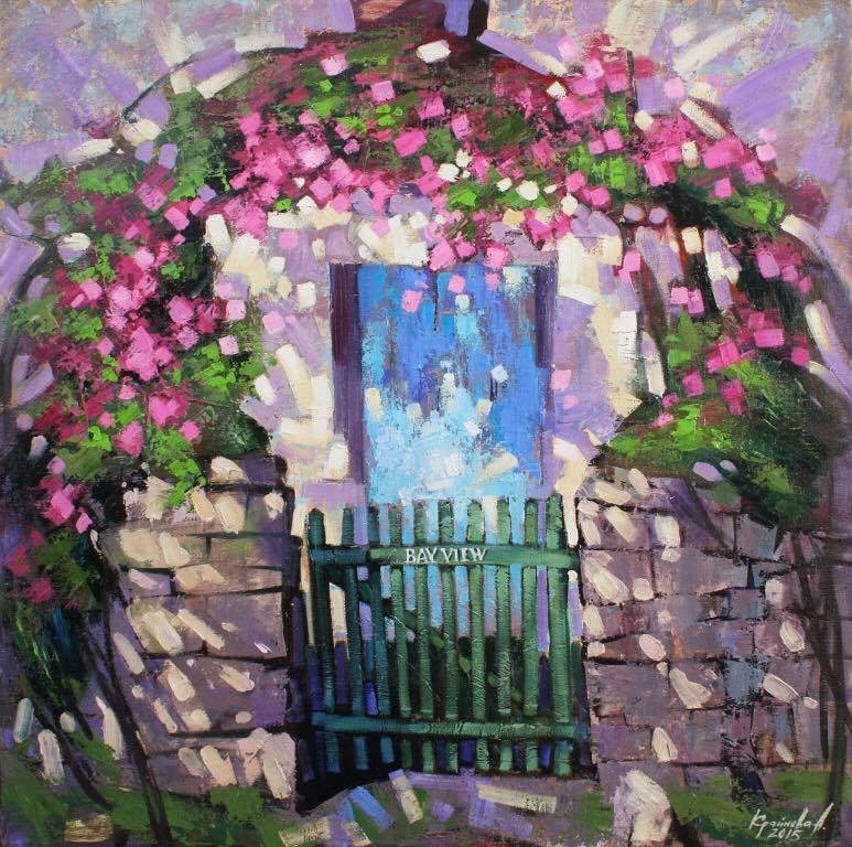 Персональная выставка современной живописи Анастасии Крайневой «Объем цвета»