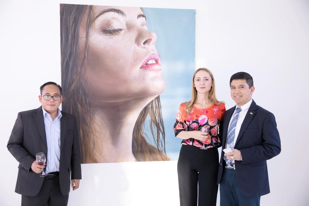 LERA LITVINOVA GALLERY   Открытие выставки «1/5»: