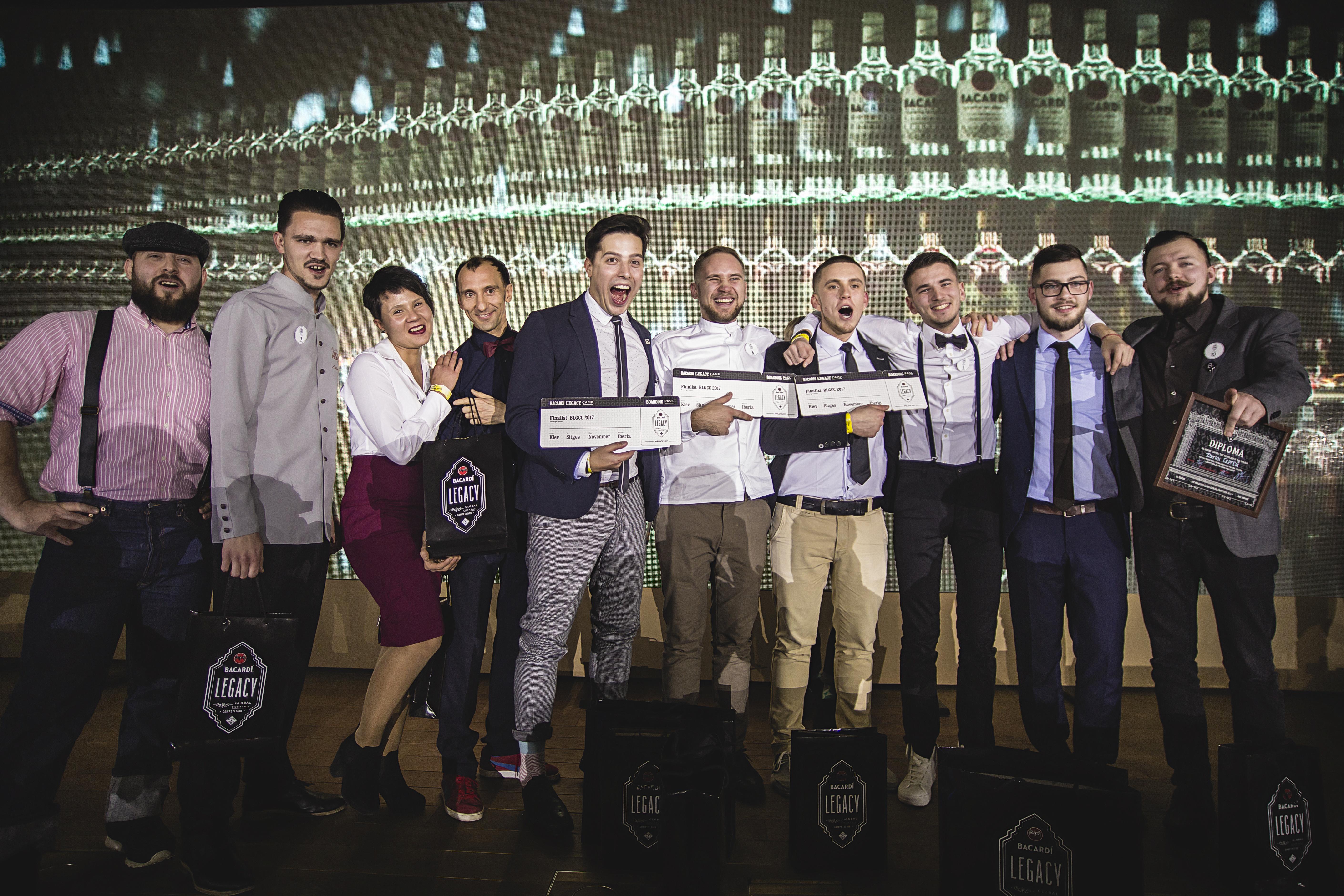 Стали известны имена победителей конкурса BACARDI Legacy Global Cocktail Competition Ukraine 2017