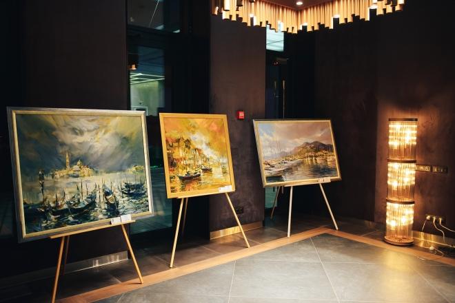 LERA LITVINOVA GALLERY представляют: Персональная выставка живописи Андрея Фиголя