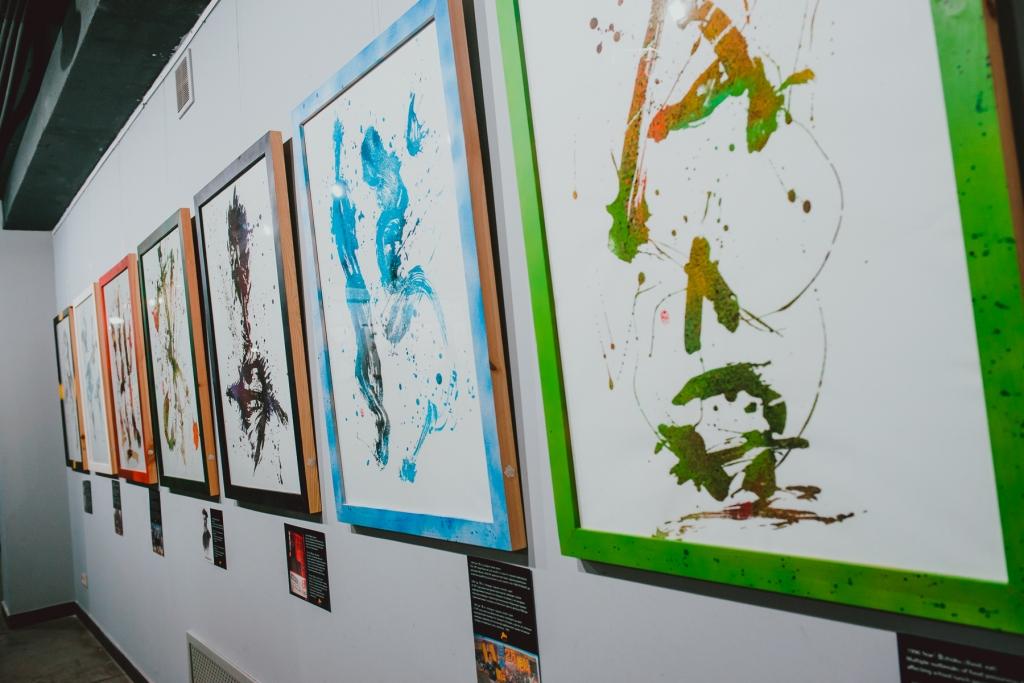 NEO CALLIGRAPHY Rairyu Project японская каллиграфия / инсталляция