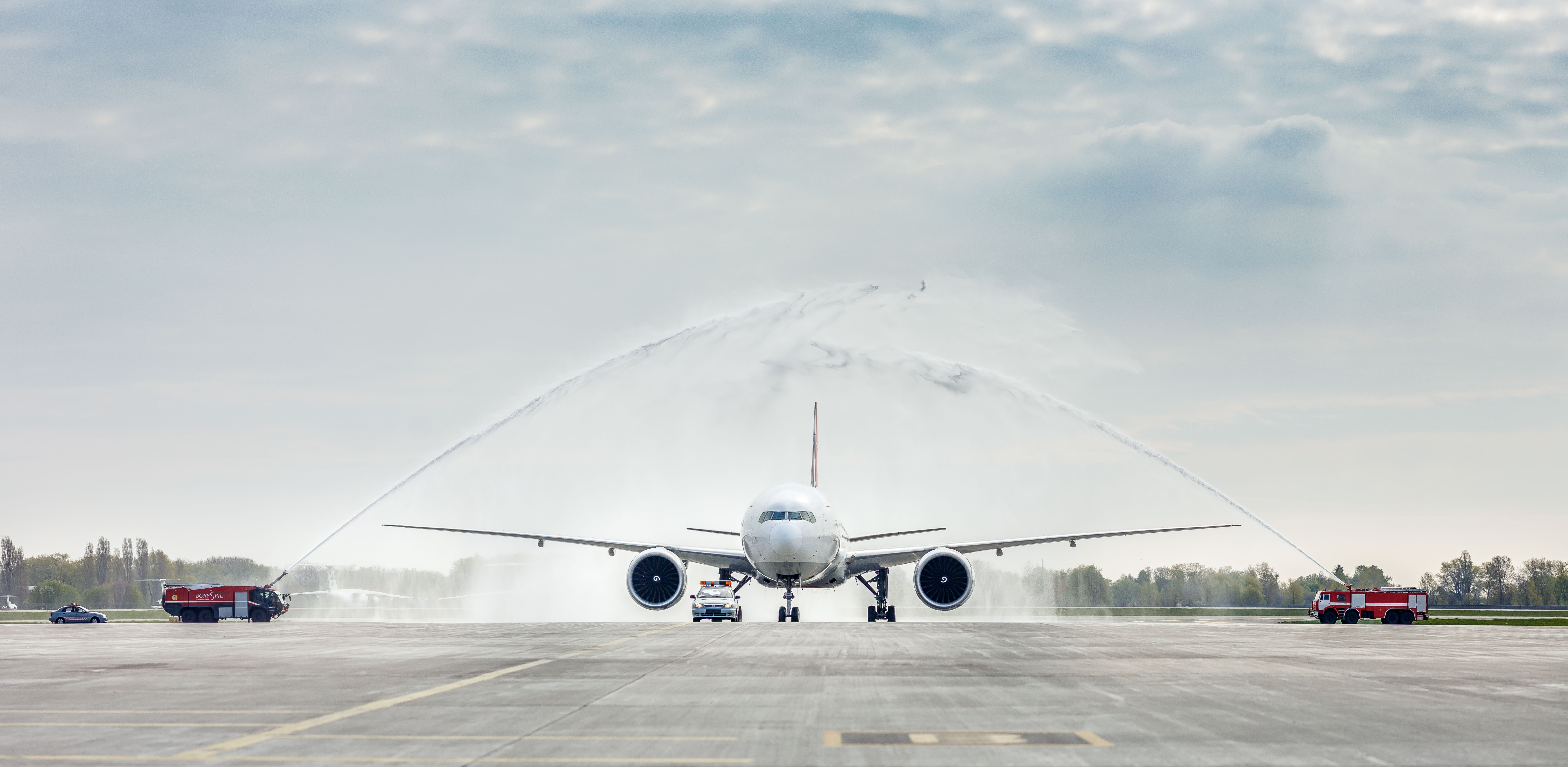 25-я годовщина полётов Turkish Airlines в Международный аэропорт «Борисполь»